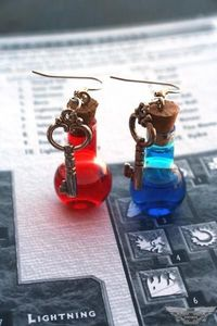 I found 'Diablo 3 Mana and Health Potion Earrings' on Wish, check it out!