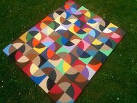 Gorgeous 'Serpentine B' quilt