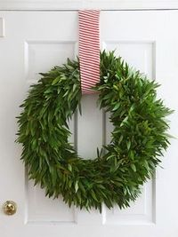 wreath over the door