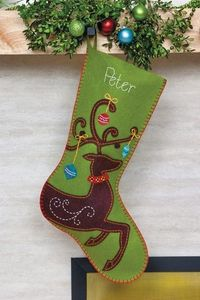 Felt stocking design inspiration (not a tutorial) #diy #stockings #christmas #holiday #handmade