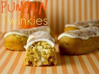 Pumpkin Twinkies