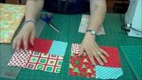 Double Slice Layer Cake Quilt Tutorial, via YouTube.