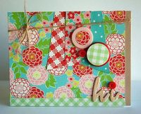 Decorate Buttons with Papers {a bit of this. a bit of that.}