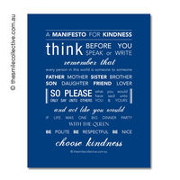 A Manifesto for Kindness