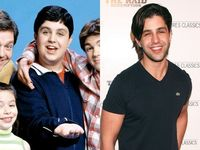 What an inspirational difference! Way to shed those pounds, Josh Peck