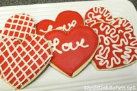 Valentine's Themed Cookies and a no fail sugar cookie recipe from