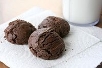 Easy Homemade Chewy Chocolate Cookies!