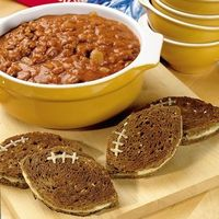 Chili & Grilled Cheese Footballs! #UltimateTailgate #Fanatics