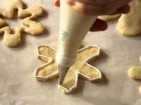 Decorate Snowflake Cookies