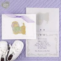 Precious Moments baby shower invite
