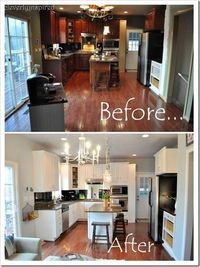 beautiful refinished kitchen