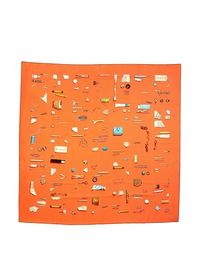 Hermes Women's Carre Scarf, Coral at MYHABIT