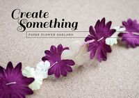 DIY: Paper Flower Garland