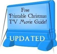 Free Updated Printable Christmas TV Movie Guide