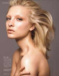 ultimate nude makeup | makeup by Yadim for Vogue Japan
