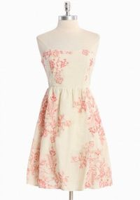 Cute vintage looking bridesmaid dress