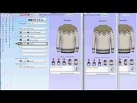 how to design a Lopi sweater