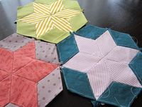 Starbright quilt tutorial ~ StitchedInColor