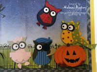 Stampin' Up! Halloween by Melissa Banbury at Porch Swing Creations: Halloween in Owlville