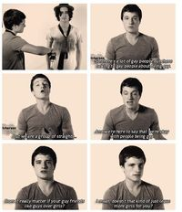 Josh Hutcherson says it's ok to be gay...