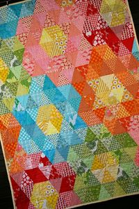 During Quiet Time: Mega Grandmother's Garden Quilt Tutorial