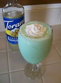 and another version of the Shamrock Shake