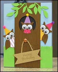 this would be cute for a preschool door welcome sign as well as for cards..think outside the box