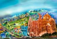 CITYSCAPE JELL-O SCULPTURES BY LIZ HICKOK