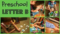 Cute ideas for a preschool study of the letter B