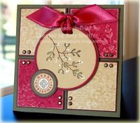 Pickled Paper Designs: Mistletoe Do-Over