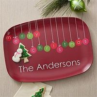 For next year, start early:) Personalized Christmas Platters