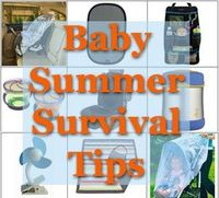 Great guide for keeping babies and children cool, happy, and healthy in the hot months of summer