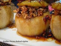 Comfy Cuisine: Butter Pecan Baked Apples