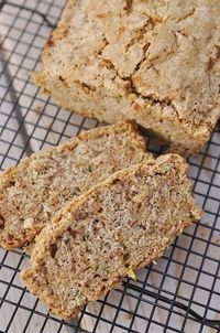 Glutten Free Zucchini Bread... it was amaaazing and soft. Keeping this one!