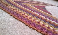 I am SO making this! Ravelry: mpoppins' Granny Crochet Obsession Shawlette
