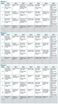 Posts similar to: P90X+ Total Body Plus workout review