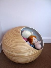 Nua Bubble for toy storage