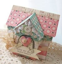 sweet little paper house