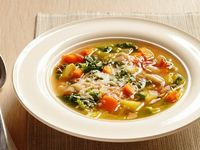 Minestrone With Parmigiano-Reggiano from FoodNetwork.com