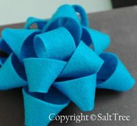 Felt Gift Bow Tutorial