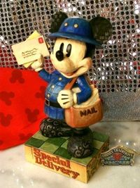 ($32.50) Disney Traditions Special Delivery Mickey From Jim Shore