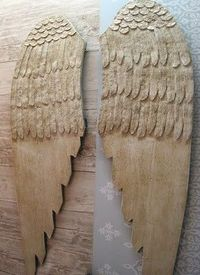 Posts Similar To Diy Angel Wings Wood And Fabric Juxtapost