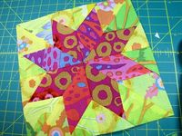 Canton Village Quilt Works: The LeMoyne Star Made Easy