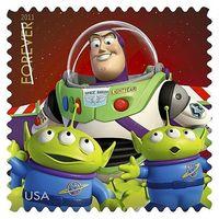 New Stamps - Buzz Lightyear