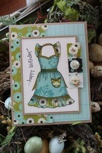 paper pieced apron
