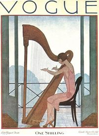 Vogue Covers from 1920's - August 1926 by missmoss , via Flickr