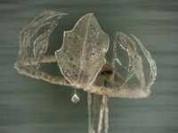 Winter Crystalline Leaf Fairy Crown | The Ark