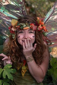 Fairy at the Renaissance Fair.
