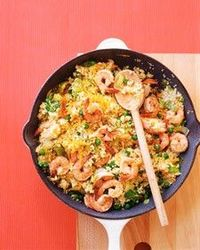 shrimp & couscous