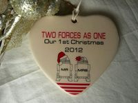 Two Forces As One R2D2 Mr & Mrs Our 1st by aphroditescanvas, $22.00
